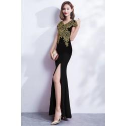 Ch7 中式敬酒服新娘紅色2018新款冬季魚尾修身結婚宴會晚禮服裙女長款