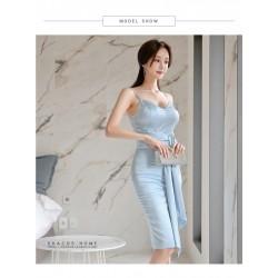 ol 32019新款成人禮宴會高貴優雅性感顯瘦名媛星空長裙氣質晚禮服女