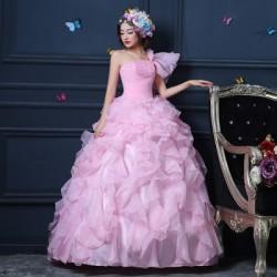 ES45 金色晚禮服裙女2020新款宴會氣質魚尾名媛晚裝年會主持人高端大氣永和店