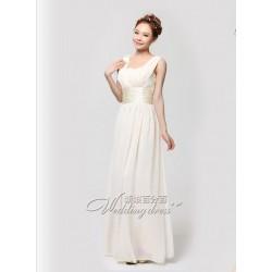 PL8 伴娘禮服長款禮服新娘結婚敬酒服晚禮服伴娘服