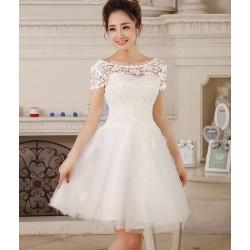 N3 伴娘禮服短款小禮服新娘結婚敬酒服晚禮服伴娘服