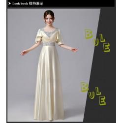 eg13 長款 禮服新娘結婚敬酒服晚禮服