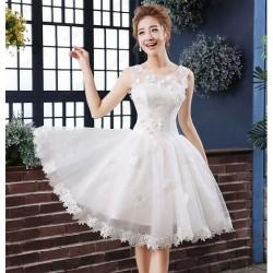 N4 伴娘禮服短款小禮服新娘結婚敬酒服晚禮服伴娘服